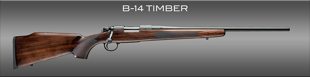 The Bergara B-14 series Timber rifle is the most accurate hunting rifle.