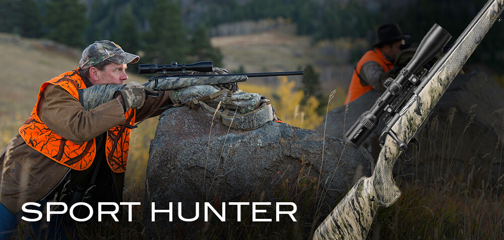 The BCR23 sport hunter in the field.