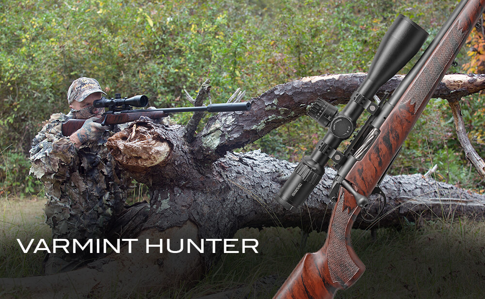 BCR24 is the rifle of choice for predator hunters.