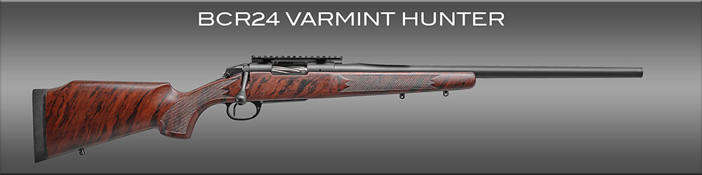 The Bergara BCR24 is an excellent choice for predator hunters looking for a varmint rifle.