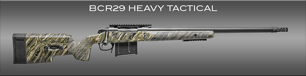 The Bergara BCR29 is a tactical bolt action rifle.