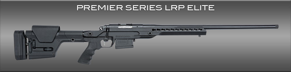 The Bergara Premier Series LRP Elite is a long range tactical rifle.